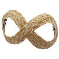 Infinity Hat aus Stroh im Vintage Stil