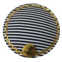 Blue & White Striped & Maritime Fascinator