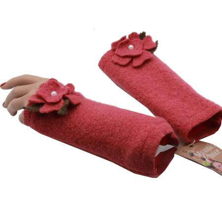 Old pink arm warmers