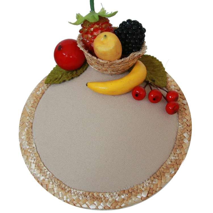 fascinaor fruits fruit bowl headpiece vintage