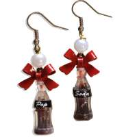 Coke bottle - earrings